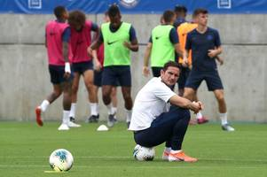 who trained and who missed out ahead of barcelona friendly - chelsea training in japan