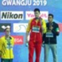 aussie swimmer mack horton makes stand by refusing to join sun yang on podium