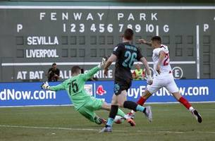 Sevilla beats Liverpool 2-1 in Fenway Park friendly
