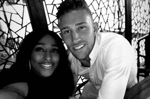 x factor's alexandra burke and hull city's angus macdonald post lavish date pictures on instagram