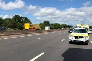 M6 southbound closed after fatal lorry crash