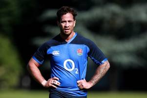 danny cipriani cut from england squad in huge dent to gloucester rugby star's world cup dream