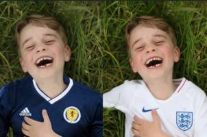 prince george joins tartan army thanks to daily record
