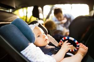 how being left in a hot car can have a devastating effect on a child's body - even when it's cloudy