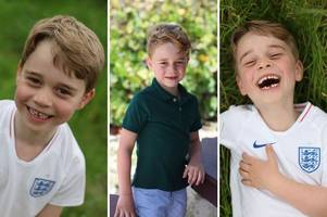 the adorable pictures of prince george as he turns six