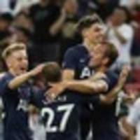 Football: Harry Kane scores with a 50-metre lob for Tottenham against Juventus
