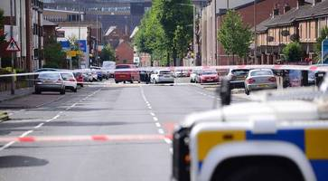 Shock at 'savage' Belfast shooting - Springfield Road remains cordoned off