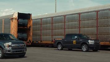 Watch: Electric Ford F-150 Prototype Tows Over a Million Pounds