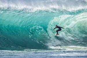 olympic surfing waves hailed at test event ahead of tokyo 2020