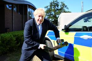 in pictures: boris johnson - from mayor of london to prime minister