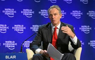 Tony Blair REFUSES to say he will vote Labour at the next general election amid Corbyn's meltdown over Brexit and anti-Semitism