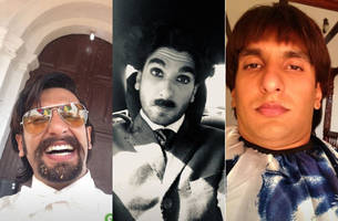 ranveer singh sums up his filmography with these selfies; see photos