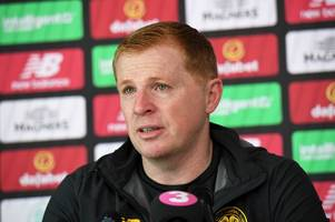 neil lennon's celtic press conference in full as he makes admission over transfers
