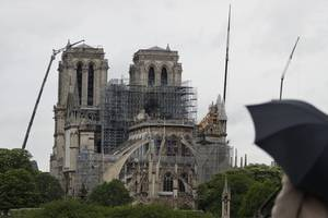 heatwave brings new threat to fire-damaged notre dame