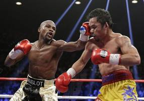want to stay relevant? fight me, manny pacquiao tells floyd mayweather