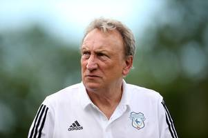 cardiff city transfer update as hunt for new striker is stepped up but neil warnock bid for midfielder hits a snag