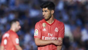 zinedine zidane discusses suspected marco asensio acl injury & effect on gareth bale deal