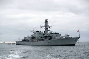 royal navy policy change as iran gulf tension grows