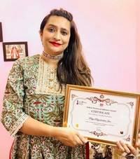 priya priyadarshini jain receives 'indian woman of influence award' at house of lords