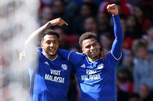 the new-look cardiff city team that could kick off championship season at wigan
