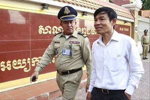 cambodian reporters on trial for 'undermining national security' after working for us-funded radio station