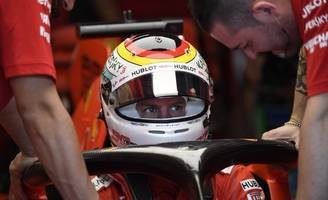 ferrari's vettel fastest in opening practice at german grand prix