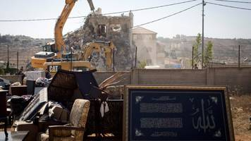 demolitions in west bank may imperil israeli-palestinian agreements