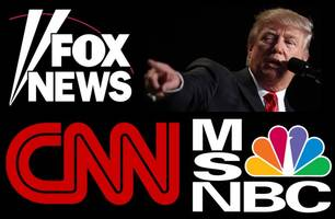 the cable news squabble: fox news slams msnbc, cnn bashes fox news