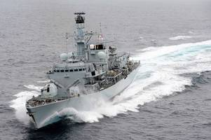royal navy warship commander told not to put his life in danger, claims iran