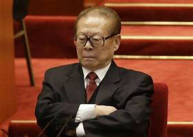 former chinese leader jiang zemin joins communist party chiefs at funeral of tiananmen premier li peng