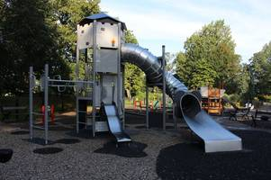 play area in arnold park destroyed in arson attack refurbished for school holidays