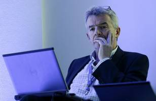 ryanair boss michael o'leary tells staff that up 1,500 jobs at risk