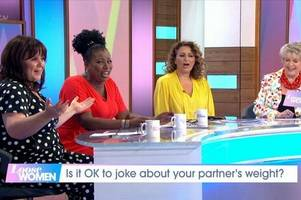 nadia sawalha speaks out after loose women viewers accuse her of branding coleen nolan 'fat'