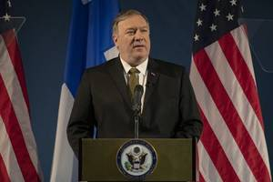 pompeo slams chinese 'coercion' in south china sea