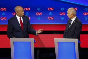 [update] booker tells biden 'you can't have it both ways' on deportations during debate
