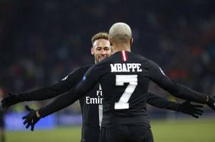 mbappe: neymar knows i want him to stay at psg