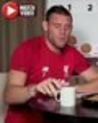 liverpool star james milner has fans in stitches with rich tea biscuit claim – 'legend'