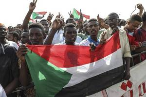 african union envoy: sudanese finalize power-sharing deal