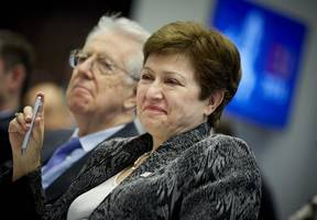 EU settles on World Bank's Georgieva to lead IMF