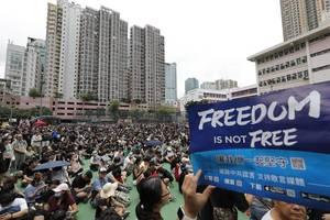 hong kong strike could shut down the city