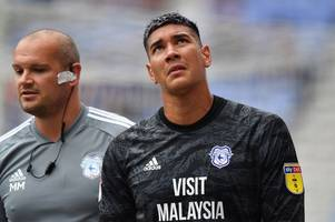 neil warnock gives concerning injury update on neil etheridge and talks cardiff city's plans for final days of the transfer window