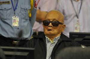 nuon chea: cambodian former khmer rouge deputy leader dies