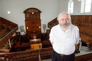 the man who is spending hundreds of thousands of pounds buying up old chapels