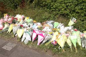 tributes to 'beautiful girl taken too soon' as flowers left by roadside after fatal midsomer norton crash