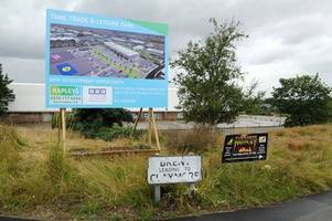 lidl and b&m plan new tamworth stores at former supermarket site