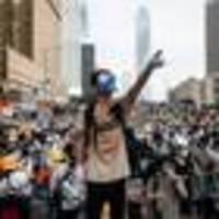 Strike brings Hong Kong transport to halt, shuts businesses after weekend of protests