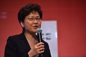 beijing reaffirms 'unflagging support' for hong kong chief executive carrie lam amid violence