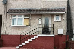 couple left terrified as coatbridge home targeted in late night arson attack