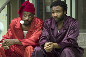fx chief says it's donald glover's call whether or not 'atlanta' will continue to film in atlanta