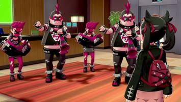 new trailer 'pokemon sword and shield' reveals team yell punks